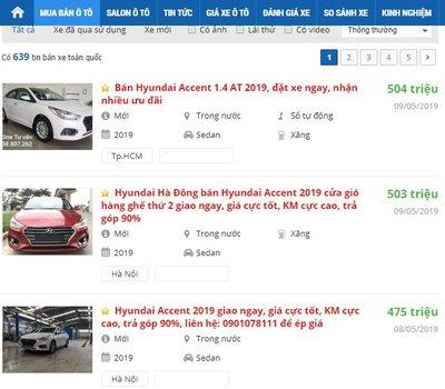Các hãng ô tô dồn dập tung khuyến mại trong tháng 5/2019, trừ xe Hyundai a3