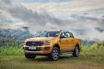 Ford Ranger 2019 màu cam tại Việt Nam