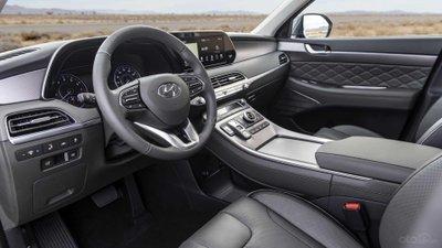 Thiết kế nội thất của Hyundai Palisade 2020.