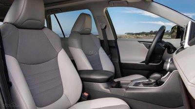 Cabin rộng rãi của Toyota RAV4 2019.