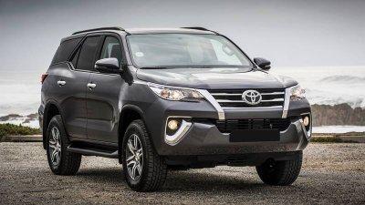 Toyota Fortuner phiên bản 2019 tại Việt Nam...