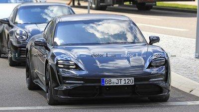 Xe thuần điện Porsche Taycan 2020 hé lộ hình ảnh nội thất a1