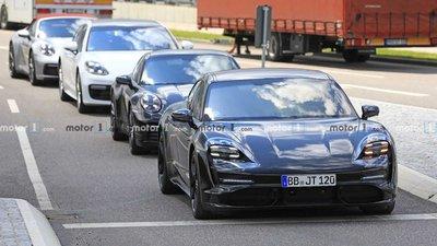 Xe thuần điện Porsche Taycan 2020 hé lộ hình ảnh nội thất a3