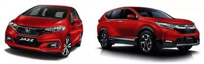 Honda City, Jazz và CR-V màu mới dự kiến ấn tượng hơn