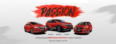 Honda City, Jazz và CR-V nồng cháy quyến rũ hơn