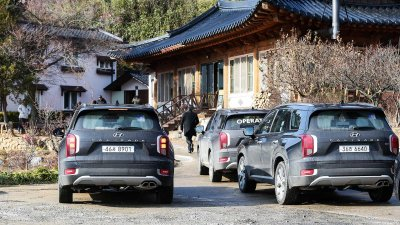 Ảnh chi tiết Hyundai Palisade sắp về Việt Nam bản dành cho thị trường Hàn a3