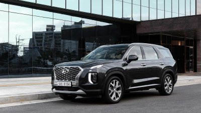 Ảnh chi tiết Hyundai Palisade sắp về Việt Nam bản dành cho thị trường Hàn a5