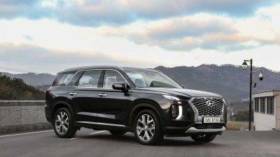 Ảnh chi tiết Hyundai Palisade sắp về Việt Nam bản dành cho thị trường Hàn a4
