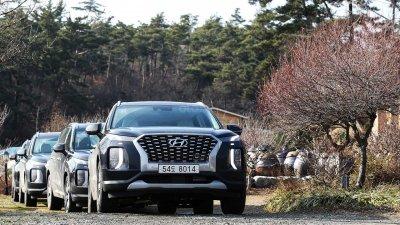 Ảnh chi tiết Hyundai Palisade sắp về Việt Nam bản dành cho thị trường Hàn a2