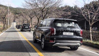 Ảnh chi tiết Hyundai Palisade sắp về Việt Nam bản dành cho thị trường Hàn a8