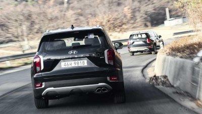 Ảnh chi tiết Hyundai Palisade sắp về Việt Nam bản dành cho thị trường Hàn a7