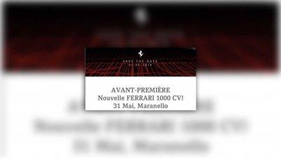 Ferrari tung tin úp mở về công suất của dòng siêu xe hybrid 1