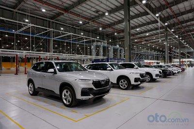 nhà máy ô tô VinFast.