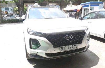 Hyundai SantaFe 2019 biển ngũ quý 7 ở Hà Nội...