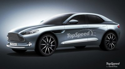 Xe điện Aston Martin Lagonda SUV