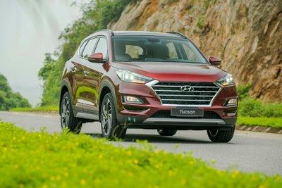 Giá lăn bánh Hyundai Tucson 2019 mới nhất.