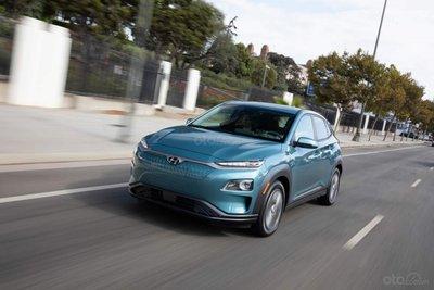 Hyundai Kona 2020 Electric cải tiến, sạc nhanh và tiện dùng