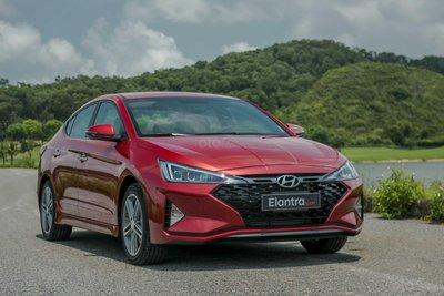 Giá lăn bánh Hyundai Elantra Sport 2019 mới nhất hôm nay...