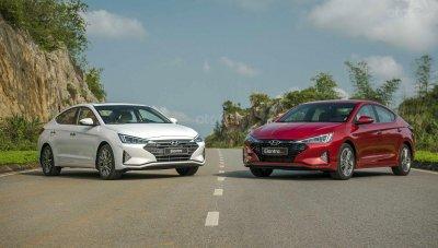 Hyundai Elantra 2019 phiên bản 2.0 và phiên bản Sport...