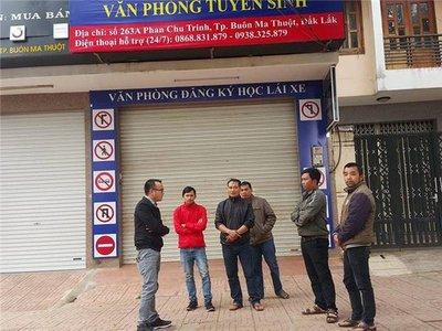 Trung tâm đào tạo lái xe lừa đảo tại Đắk Lắk...