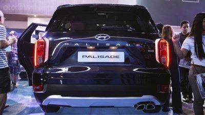 Hyundai Palisade có vóc dáng thượng đẳng