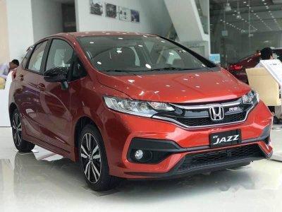 Honda Jazz 2019 màu cam tại Vn