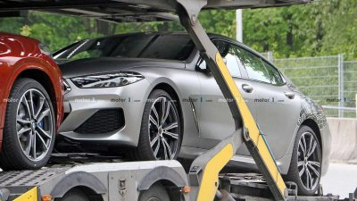 Tóm gọn BMW 8 Series Gran Coupe trên đường với diện mạo nổi bần bật a2