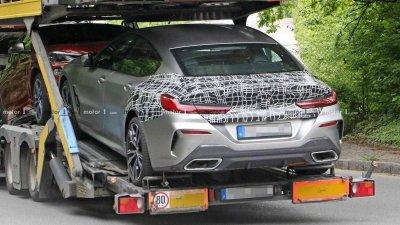 Tóm gọn BMW 8 Series Gran Coupe trên đường với diện mạo nổi bần bật a14