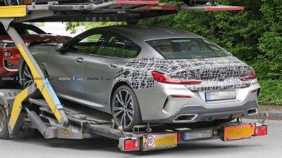 Tóm gọn BMW 8 Series Gran Coupe trên đường với diện mạo nổi bần bật a13