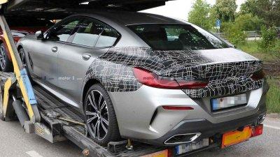 Tóm gọn BMW 8 Series Gran Coupe trên đường với diện mạo nổi bần bật a8
