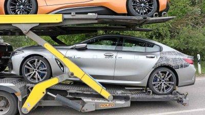 Tóm gọn BMW 8 Series Gran Coupe trên đường với diện mạo nổi bần bật a3