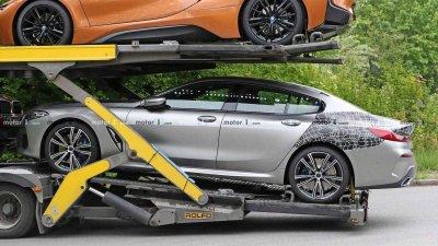 Tóm gọn BMW 8 Series Gran Coupe trên đường với diện mạo nổi bần bật a12