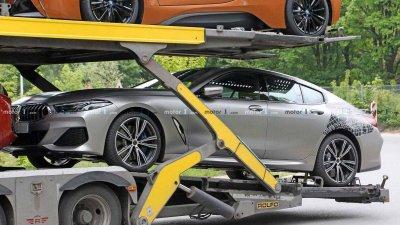 Tóm gọn BMW 8 Series Gran Coupe trên đường với diện mạo nổi bần bật a10