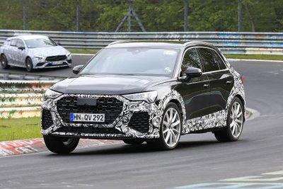 Audi RS Q3 2019 xuất hiện trên đường thử: Đậm chất thể thao, nhiều tính năng vượt trội a1