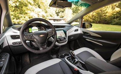 Nội thất xe Chevrolet Bolt 2019