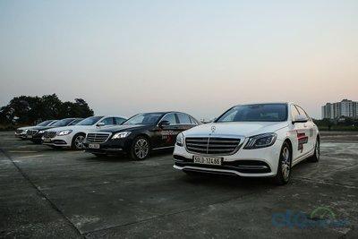 Công nghệ đèn pha MULTIBEAM LED đã có mặt trên 3 dòng sedan C, E và S của Mercedes-Benz.