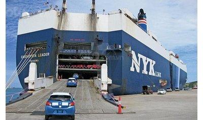 Xe ô tô Thái Lan lên tàu tới Hoa Kỳ