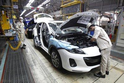 Nhà máy sản xuất ô tô tại Thái Lan