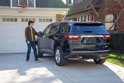 Chevrolet trình làng công nghệ bắt buộc thắt dây an toàn 7