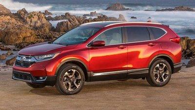 Honda CR-V đời 2019 màu đỏ