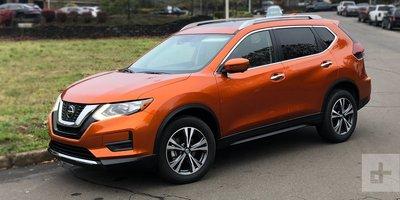 Nissan Rogue đời 2019 màu cam