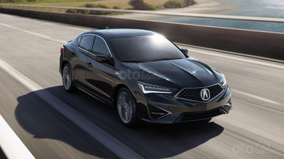 góc 3/4 đầu xe Acura ILX 2019