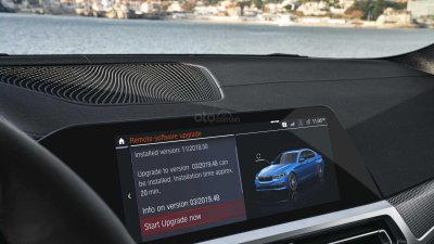 Công nghệ ô tô mới cập nhật không dây OTA tiện lợi