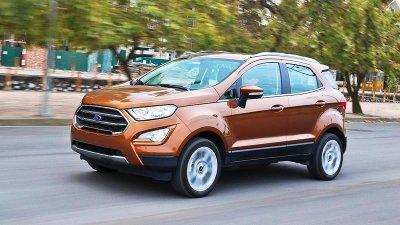 Ford EcoSport 2020 ngoại thất màu nâu