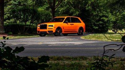 """Ngắm Rolls-Royce Cullinan màu cam """"độc nhất vô nhị"""" của cầu thủ Odell Beckham Jr a2"""