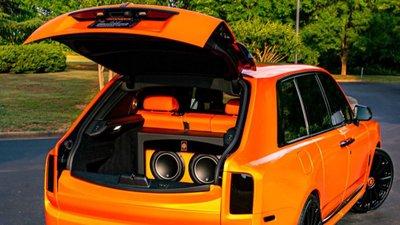 """Ngắm Rolls-Royce Cullinan màu cam """"độc nhất vô nhị"""" của cầu thủ Odell Beckham Jr a8"""