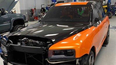 """Ngắm Rolls-Royce Cullinan màu cam """"độc nhất vô nhị"""" của cầu thủ Odell Beckham Jr a3"""