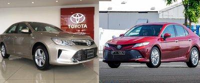 So sánh thông số kỹ thuật xe Toyota Camry 2018 và 2019 - Ảnh 1.