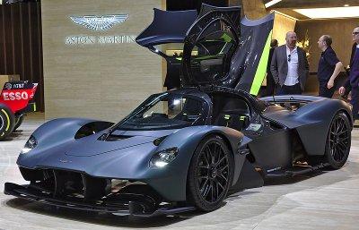 Aston Martin Valkyrie tại triển lãm Geneva 2019
