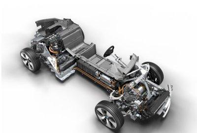 Hệ thống dẫn động trên ô tô BMW.